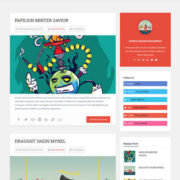 PinPress Blogger Templates