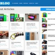Pixel Blog Responsive Blogger Template