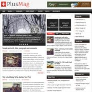 PlusMag Blogger Templates