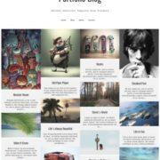 Portfolio Blog Responsive Blogger Templates