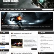 Power Games Blogger Templates