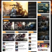 PowerGame Blogger Templates