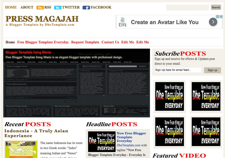 Press Magajah blogger template. Free Blogger templates. Blog templates. Template blogger, professional blogger templates free. blogspot themes, blog templates. Template blogger. blogspot templates 2013. template blogger 2013, templates para blogger, soccer blogger, blog templates blogger, blogger news templates. templates para blogspot. Templates free blogger blog templates. Download 1 column, 2 column. 2 columns, 3 column, 3 columns blog templates. Free Blogger templates, template blogger. 4 column templates Blog templates. Free Blogger templates free. Template blogger, blog templates. Download Ads ready, adapted from WordPress template blogger. blog templates Abstract, dark colors. Blog templates magazine, Elegant, grunge, fresh, web2.0 template blogger. Minimalist, rounded corners blog templates. Download templates Gallery, vintage, textured, vector, Simple floral. Free premium, clean, 3d templates. Anime, animals download. Free Art book, cars, cartoons, city, computers. Free Download Culture desktop family fantasy fashion templates download blog templates. Food and drink, games, gadgets, geometric blog templates. Girls, home internet health love music movies kids blog templates. Blogger download blog templates Interior, nature, neutral. Free News online store online shopping online shopping store. Free Blogger templates free template blogger, blog templates. Free download People personal, personal pages template blogger. Software space science video unique business templates download template blogger. Education entertainment photography sport travel cars and motorsports. St valentine Christmas Halloween template blogger. Download Slideshow slider, tabs tapped widget ready template blogger. Email subscription widget ready social bookmark ready post thumbnails under construction custom navbar template blogger. Free download Seo ready. Free download Footer columns, 3 columns footer, 4columns footer. Download Login ready, login support template blogger. Drop down me