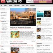 PrimeNews Blogger Templates