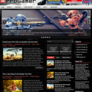 ProGamer Blogger Templates