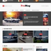 ProMag Blogger Templates