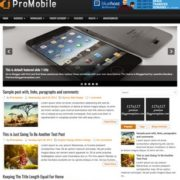 ProMobile Blogger Templates