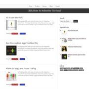 Professional Blogging Blogger Templates