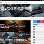Proxima Game Responsive Blogger Template