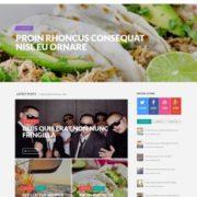 Proxima magazine Responsive Blogger Templates