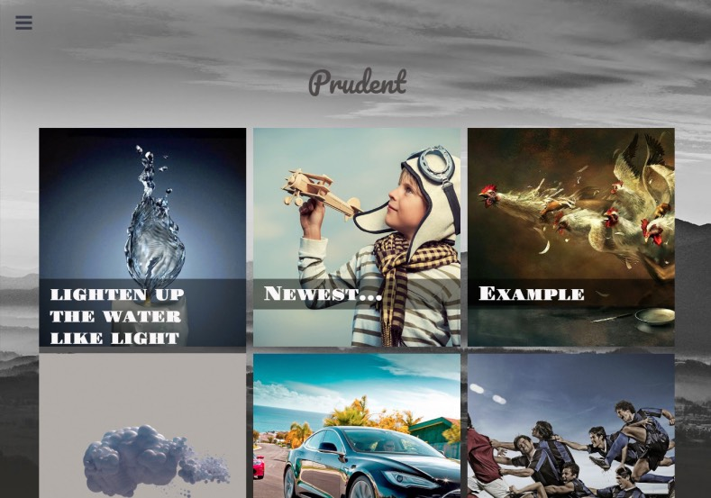 Prudent Blogger Template. 2015 Prudent Blogger Template free
