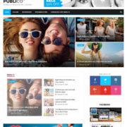 Publico Magazine Blogger Templates