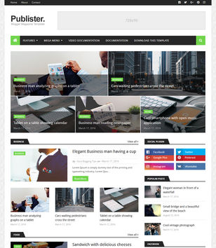 Publister Blogger Templates