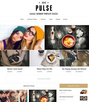 Pulse Blogger Templates