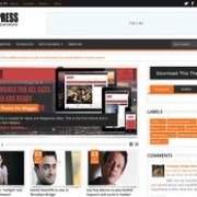 Punjab Press Responsive v2 Blogger Template