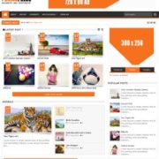 Punjab Press v4 Responsive Blogger Templates