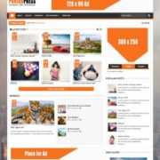 Punjab Press v5 Responsive Blogger Templates