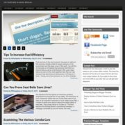 Pure Magazine V1 Blogger Templates