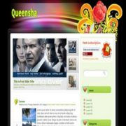 Queensha Blogger Templates