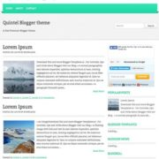 Quintel Blogger Templates