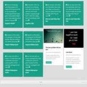Quotes Responsive Blogger Templates