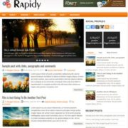 Rapidy Blogger Templates