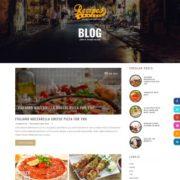 Recipes Blogger Templates