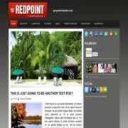 Red Point Blogger Templates