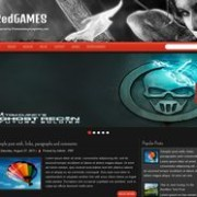 RedGames Responsive Blogger Template