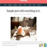 RedMag Blogger Templates