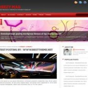 Reezy Mag Blogger Template