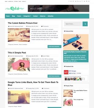 Relish Blogger Templates