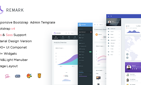 Remark - Responsive Bootstrap 4 Admin Template