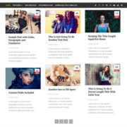 Remito Grid Blogger Templates