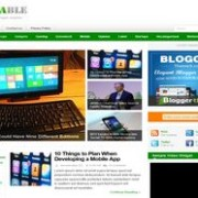 Resizable Responsive Blogger Template