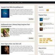 Respoaum Responsive Blogger Templates