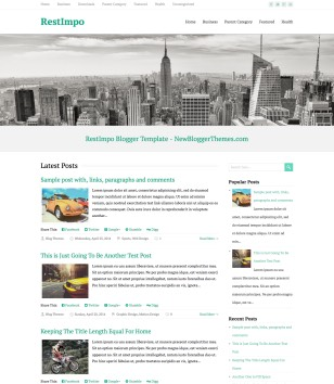 RestImpo Blogger Templates