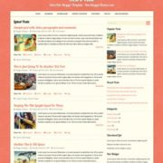RetroTale Blogger Templates