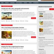 Ribbon blogspot Blogger Templates