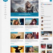 Rocket Blogger Templates