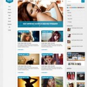Rocket – Responsive version Blogger Templates