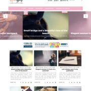 Rose Blog Blogger Templates