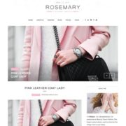 Rosemary Beauty Blogger Templates
