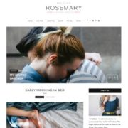 Rosemary Fashion Blogger Templates