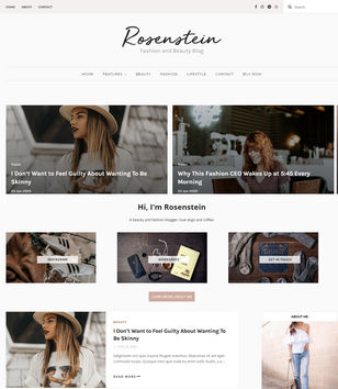 Rosenstein Blogger Templates