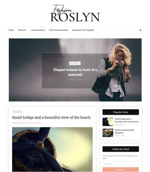 Roslyn Blogger Templates