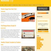 Round Up Responsive Blogger Templates