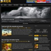 Rox Blogger Templates