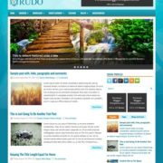 Rudo Blue Blogger Templates