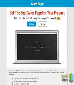 Sales Page Seo Blogger Templates